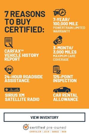 7 Reasons to Buy Certified