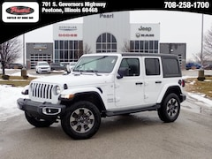 2019 Jeep Wrangler UNLIMITED SAHARA 4X4 Sport Utility for sale in Peotone, IL