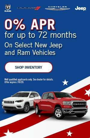 July 0% APR for up to 72 months Offer