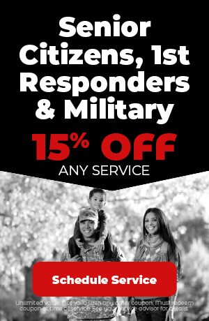 Senior Citizens, 1st Responders & Military