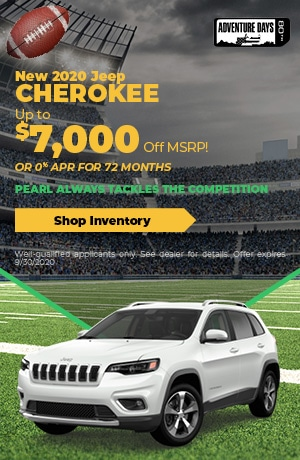 September New 2020 Jeep Cherokee