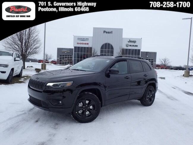 New 2019 Jeep Cherokee ALTITUDE 4X4 Sport Utility in Peotone, IL