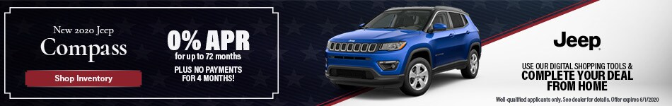 May New 2020 Jeep Compass Offer
