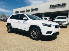 New 2019 Jeep Cherokee LATITUDE PLUS FWD Sport Utility 1C4PJLLB8KD395874 for sale in Alto, TX at Pearman Motor Company
