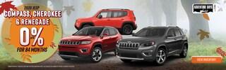 2020 Jeep Compass, Cherokee, & Renegade