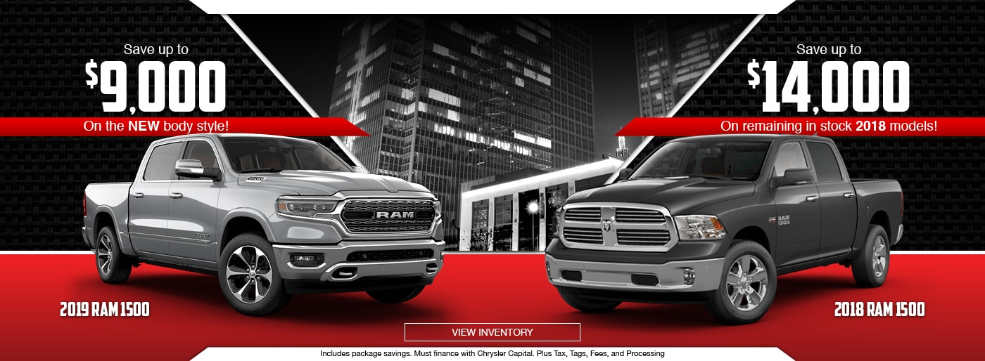 Perfect 2018 And 2019 RAM 1500 Special