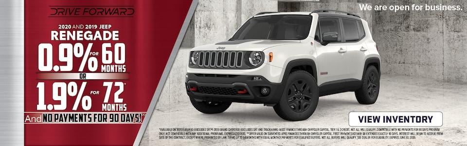 2020 & 2019 Jeep Renegade