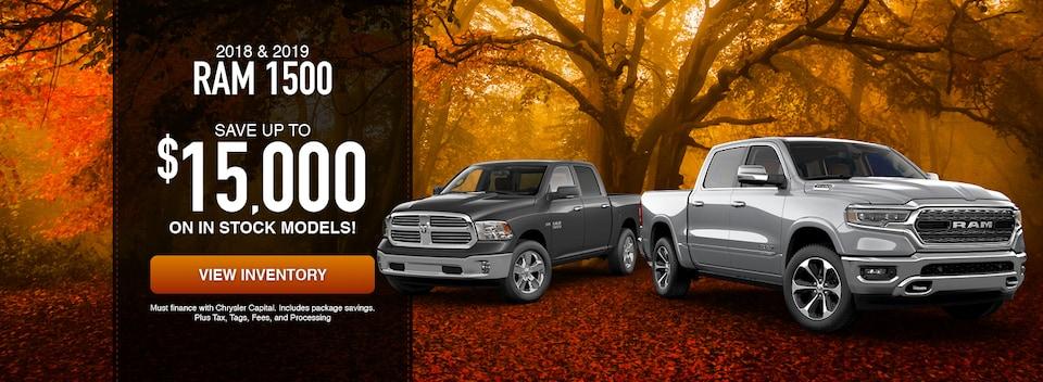 2018 & 2019 RAM 1500 Trucks
