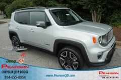 New 2019 Jeep Renegade LIMITED 4X4 Sport Utility in Richmond, VA