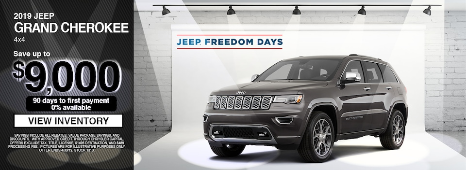 2019 Jeep Grand Cherokee 4X4 Special