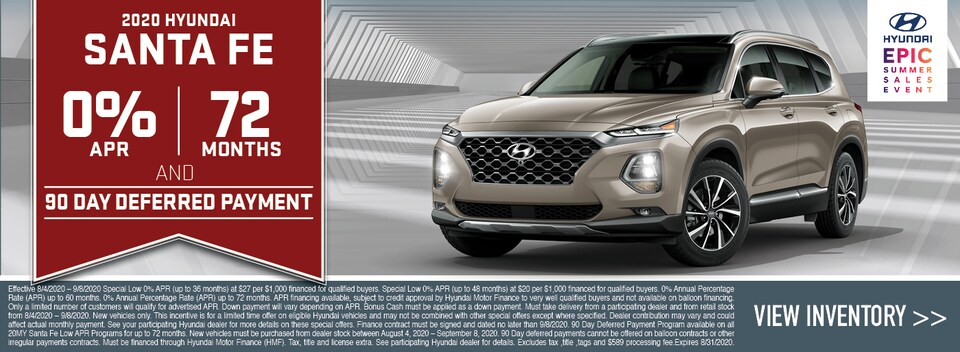 2020 Hyundai Santa Fe Special