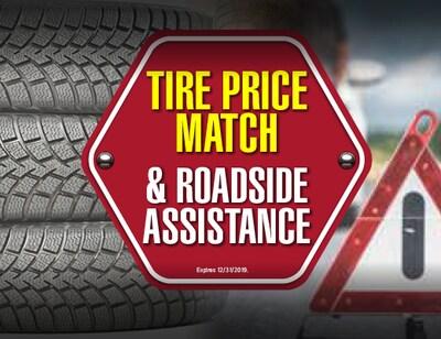 Tire Price Match & Roadside Assistance