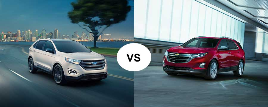 Ford Edge Vs Chevy Equinox In Washington Nc
