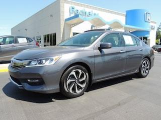 used 2017 Honda Accord EX Sedan 1HGCR2F78HA205284 for sale in New Bern