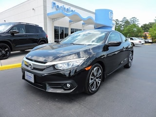 used 2017 Honda Civic EX-T Coupe 2HGFC3B34HH355921 for sale in New Bern
