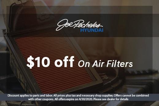 April Air Filter Special