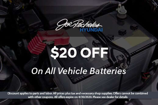 April Battery Special