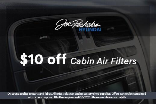 April Cabin Air Filter Special