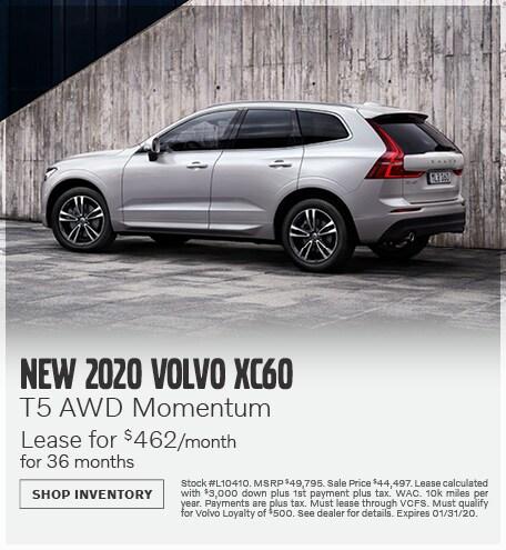 January | 2020 XC60 T5 AWD Momentum