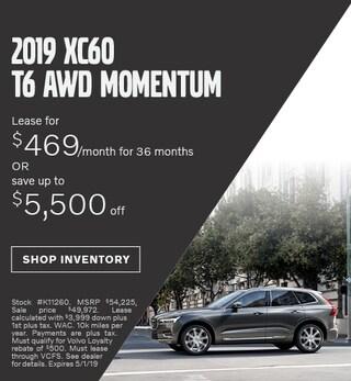 April 2019 | 2019 XC60 T6 AWD Momentum