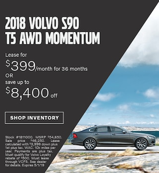 April 2019 | 2018 S90 T5 AWD Momentum