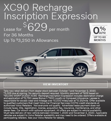 October | XC90 Recharge Inscription
