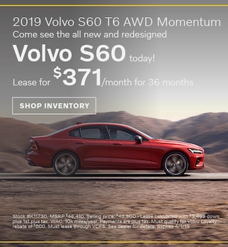 2019 Volvo S60 | Pedersen Volvo