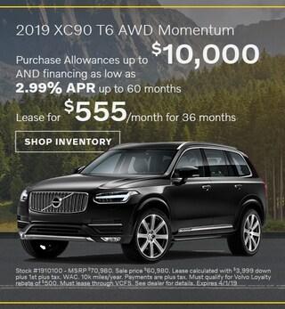 2019 Volvo XC90 T6 | Pedersen Volvo