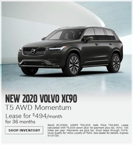January | 2020 XC90 T5 AWD Momentum