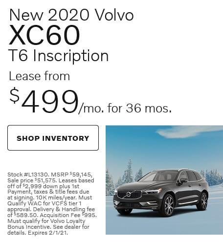 January   2020 XC60 T6 Inscription
