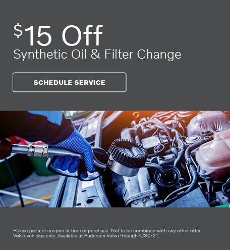 $15 Off Synthetic Oil & Filter Change
