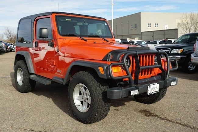 Used 2006 Jeep Wrangler For Sale Fort Collins CO
