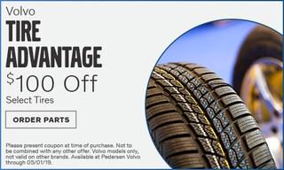 April 2019 | $100 Off Tire Advantage