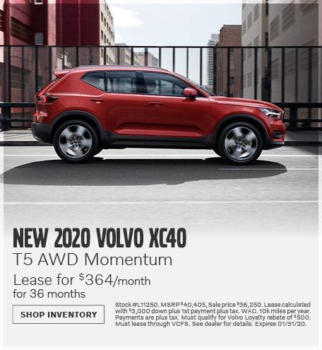 January | 2020 XC40 T5 AWD Momentum