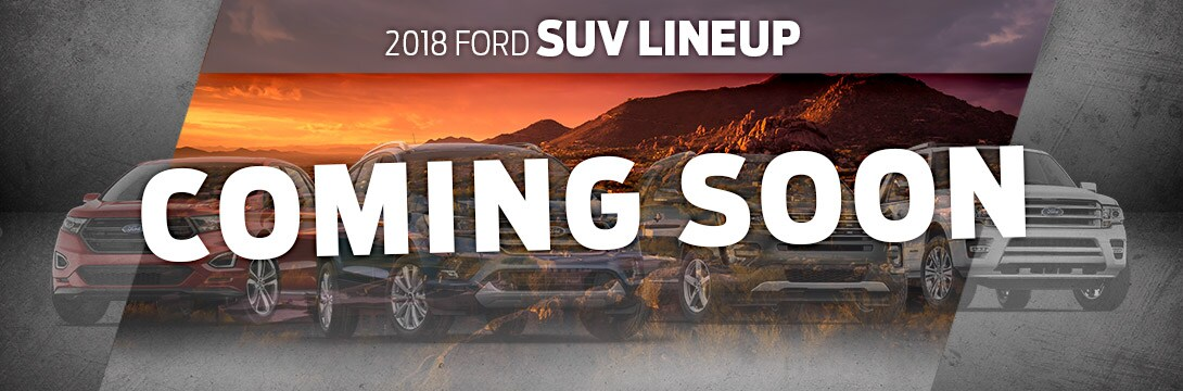 2018 Ford SUV Lineup