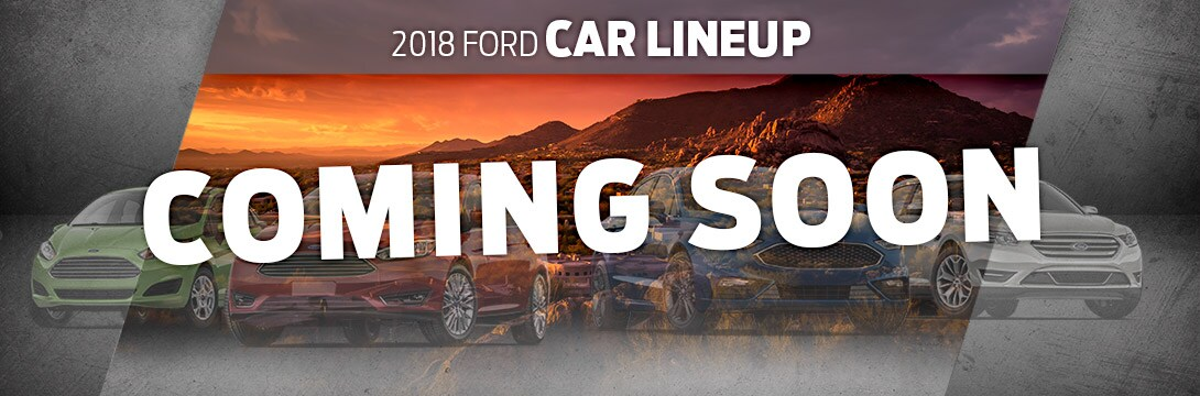 2018 Ford Car Lineup