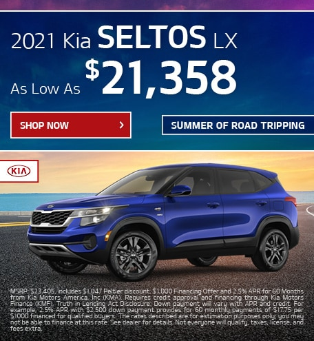 2021 Seltos Offer