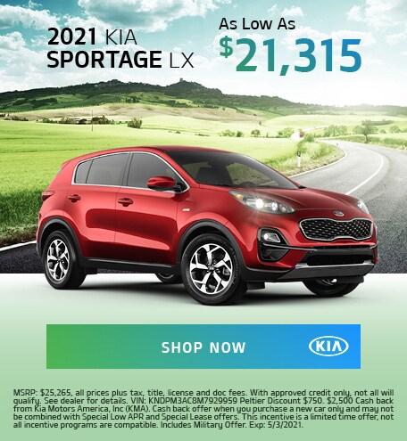 2021 Sportage Offer