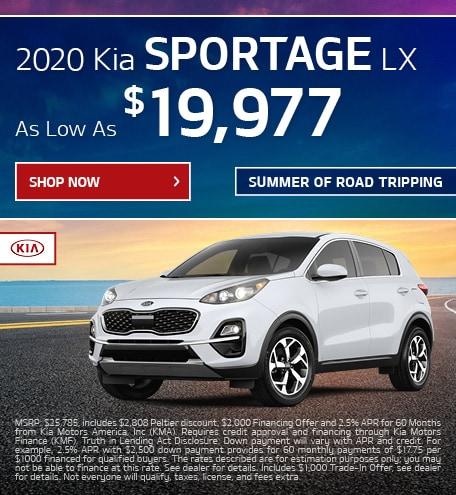 2020 Sportage Offer