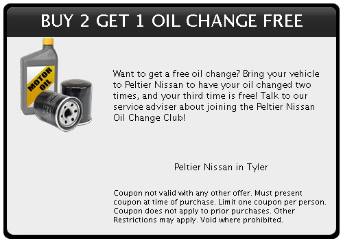 Peltier Tyler Tx >> Specials Coupons Peltier Nissan In Tyler Tx