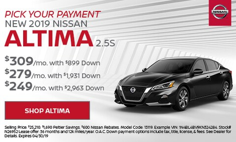 2019 Altima Pick Your Payment