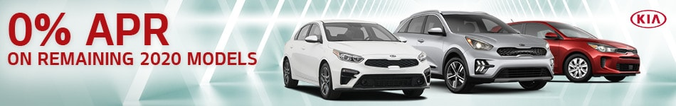 0% APR on remaining 2020 models