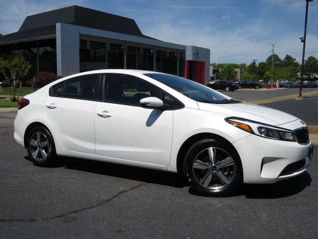 Certified Used 2018 Kia Forte LX + Camera + Bluetooth 4 Door Sedan near Richmond, VA