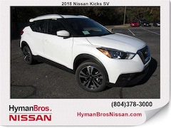 New 2018 Nissan Kicks SV SUV near Richmond