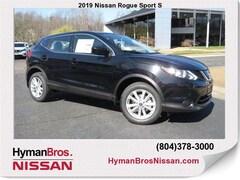 New 2019 Nissan Rogue Sport S SUV near Richmond