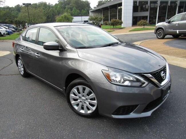 Certified Used 2017 Nissan Sentra S + Bluetooth 4 Door Sedan near Richmond, VA