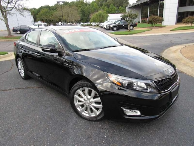 2015 Kia Optima EX + Leather + Bluetooth 4 Door Sedan for sale near Richmond, VA at Pence Kia