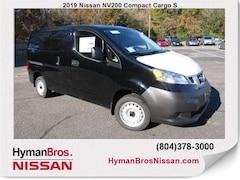 New 2019 Nissan NV200 S Van Compact Cargo Van near Richmond