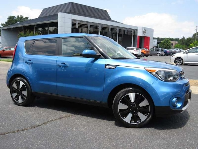 2017 Kia Soul + 4 Door Hatchback for sale near Richmond, VA at Pence Kia