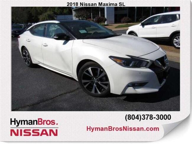 New 2018 Nissan Maxima SL Sedan Richmond VA